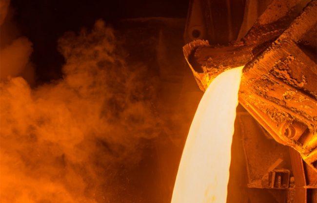 Ham çelik üretimi yüzde 8,5 düştü