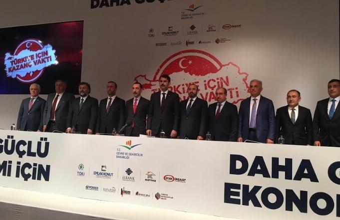 Konut sektörü 'Türkiye için kazanç vakti' kampanya detayları açıklandı!