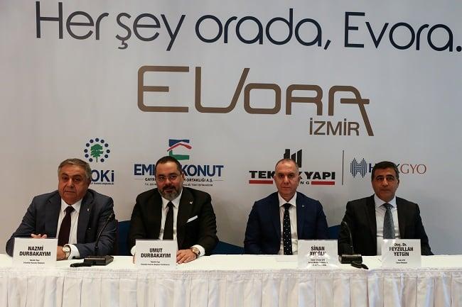 Evora İzmir'de ön talep toplanıyor! Metrekaresi 8 bin 150 lira!