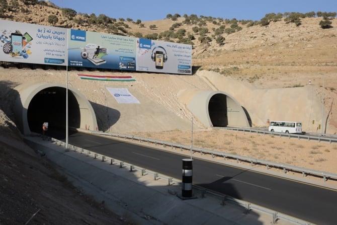 Zaho Tüneli hizmete açıldı