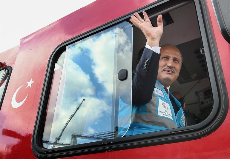 İstanbul Banliyösü Pendik-Maltepe hattında test sürüşü başladı!