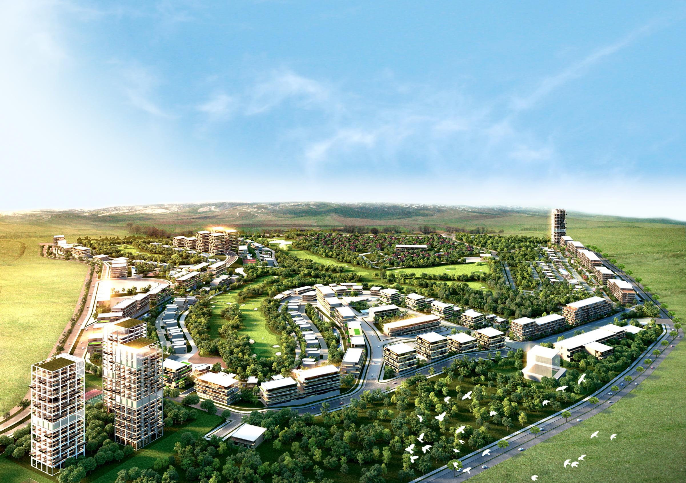 Ankara Golfkent arsaları ihale ile satışta!