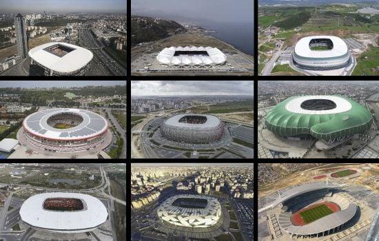 Türkiye EURO 2024'te 10 modern statla turnuvayı düzenlemek istiyor!