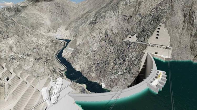 Yusufeli Barajı ve HES'te yüzde 60,6 fiziki gerçekleşme sağlandı!