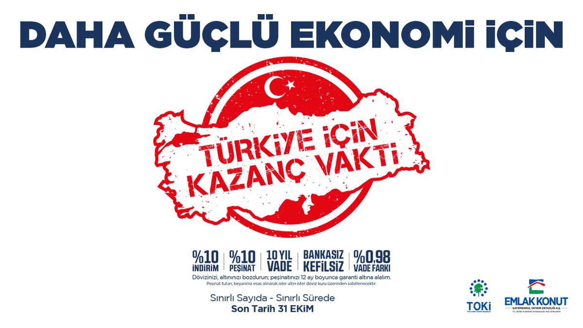 Emlak Konut Türkiye İçin Kazanç Vakti kampanyası ne zaman bitiyor?