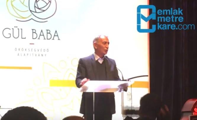 Adnan Polat'ın Budapeşte'deki Gülbaba Türbesi hakkındaki açıklamaları!