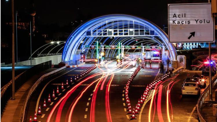 Avrasya Tüneli'nden 2018 yılında 17,5 milyon araç geçti!