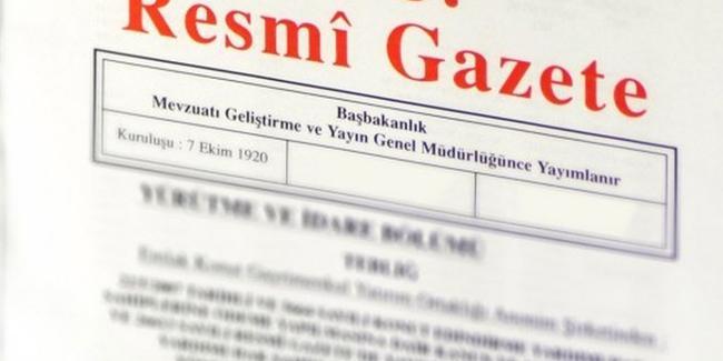 KONKORDATO GİDER AVANSI TARİFESİ RESMİ GAZETE'DE YAYIMLANDI