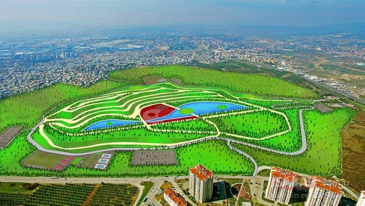 Bursa'ya 1,5 milyon metrekarelik 8 yeni dev park inşa ediliyor!