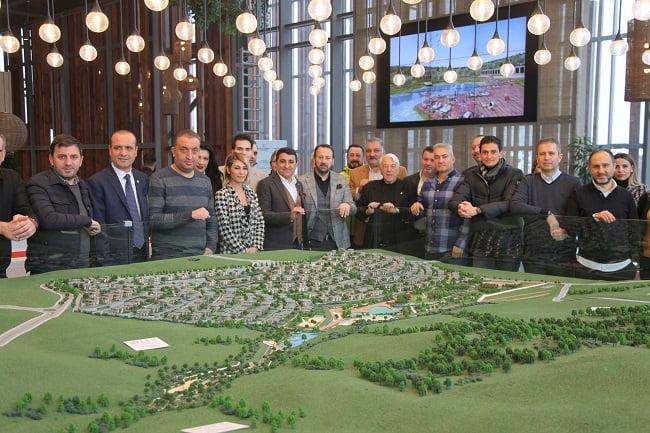 Düşler Vadisi Riva projesi Galatasaraylı işadamlarına tanıtıldı!