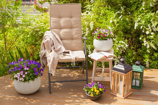 Yaz Geldi,Bahçe Ve Balkonlar Renklendi!