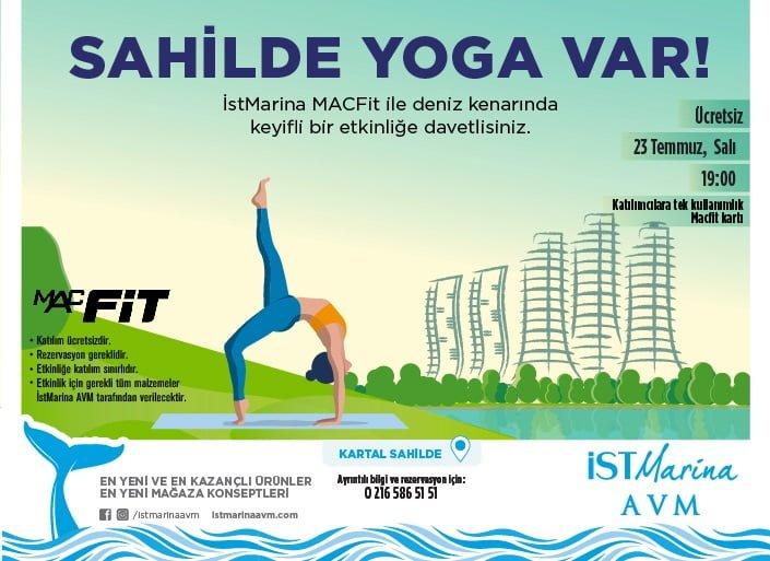 İstMarina'da Yoga Buluşması!